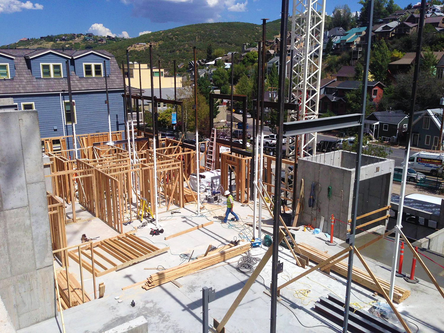 Project On Park City Main Street In Utah New Star General